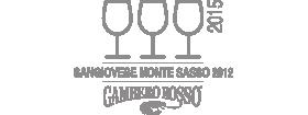 3 Bicchieri 2015 Sangiovese Monte Sasso 2012