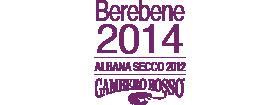 Berebene 2014 Albana Secco 2012