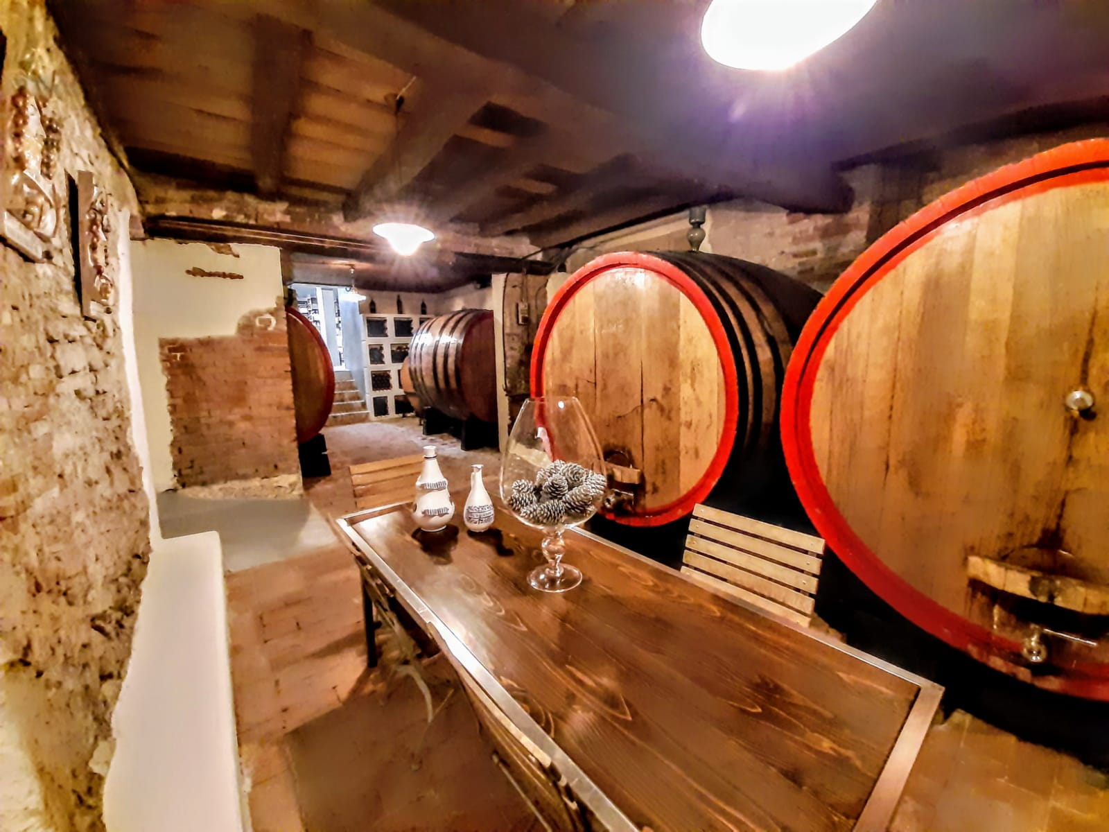 Old Cellar <BR /> Where Wine Aging is done
